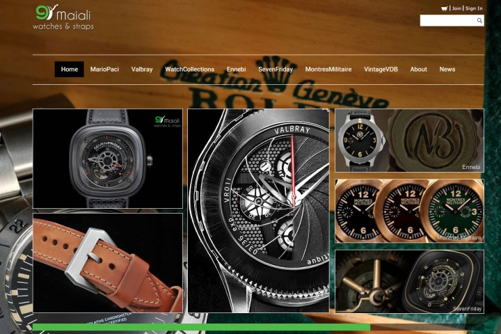 9Maiali Watches & Straps